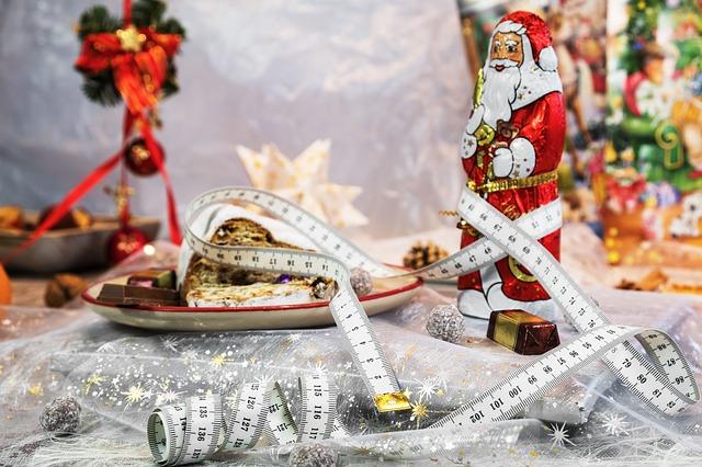 Měření proporcí těla po Vánocích