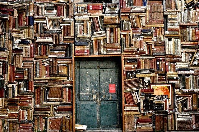 spousta knih